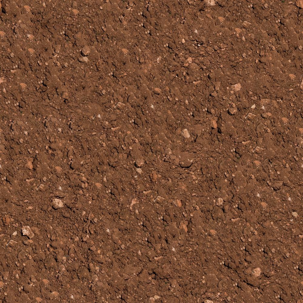 Brown Plowed Soil